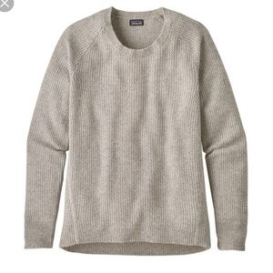 Patagonia Grey Recycled Cashmere crew sweater M